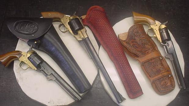 Western Holsters, Custom Leather Holsters
