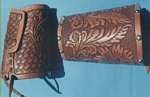 custom leather cowboy cuffs