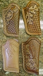 carved leather cell phone holsters