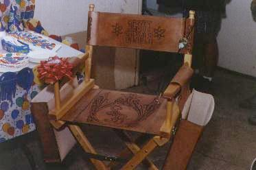 Custom Leather Directoru0027s Chair ...